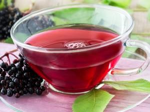 Elderberry Tea Pictures