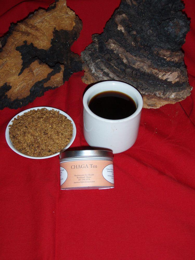 Buy Chaga Mushroom Tea Benefits How To Make Side