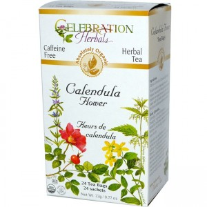 Pictures of Calendula Tea