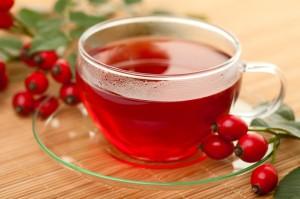 Rose hips tea