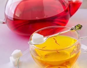 Saffron Tea Images