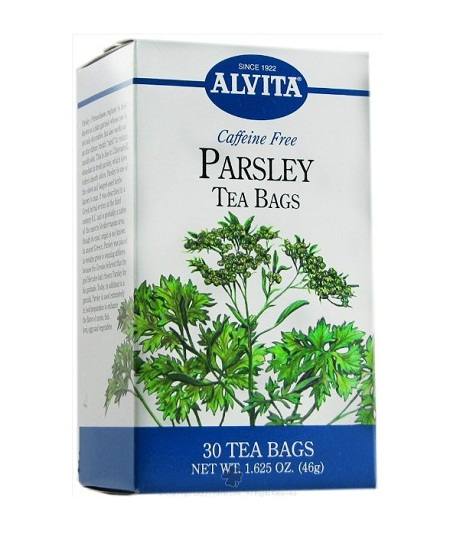 Where can i find parsley tea