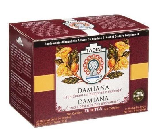 Damiana tea fertility