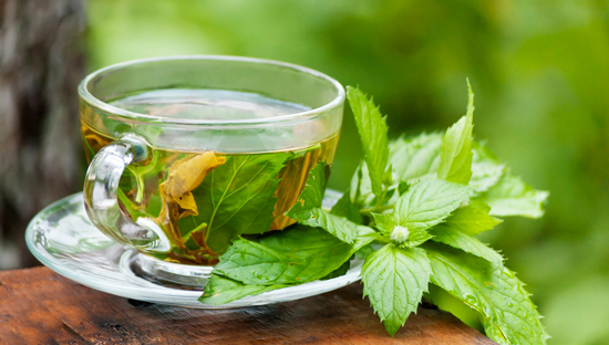 Peppermint Leaf Tea Peppermint Tea
