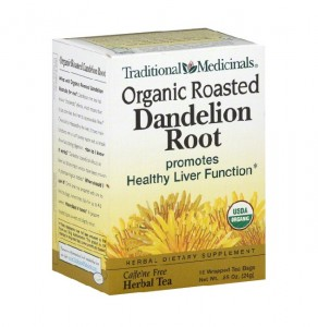 Dandelion Root Tea Images