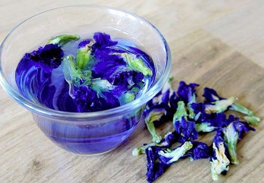 butterfly pea tea синий чай отзывы