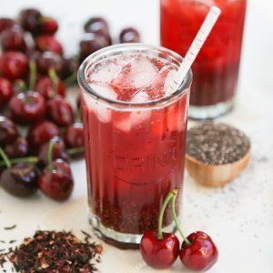 Cherry Iced Tea