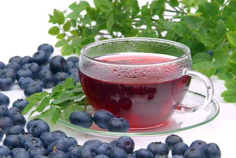 Buy Blueberry Tea Benefits Side Effects How To Make